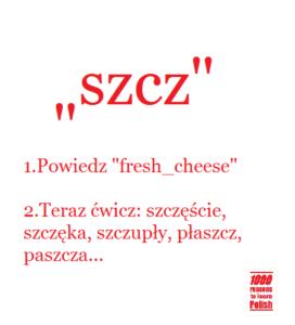 polish pronunciation szcz