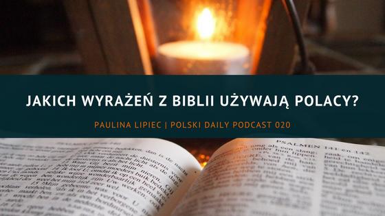 wyrażenia z Biblii