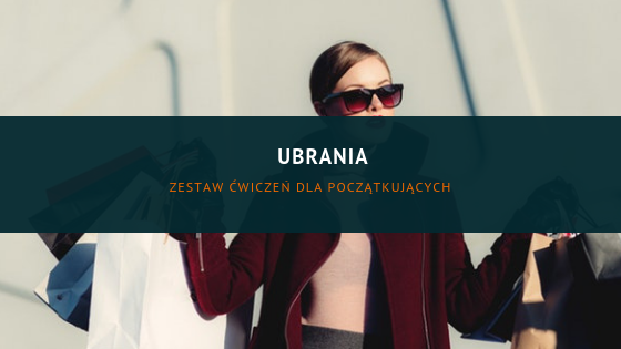 Clothes in Polish (set of exercises)