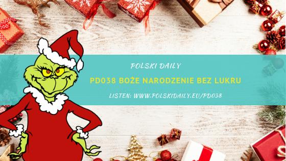 PD038 Boże Narodzenie bez lukru