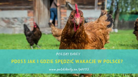 PD053 Jak i gdzie spędzić fajnie wakacje w Polsce?